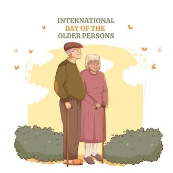 Dia internacional de los ancianos