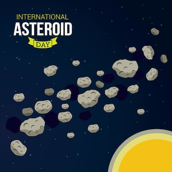 Día internacional de asteroides