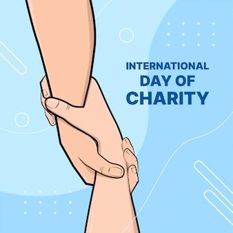 Día internacional de la caridad.