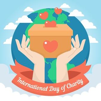 Dia internacional de la caridad
