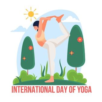 Día internacional del concepto de yoga