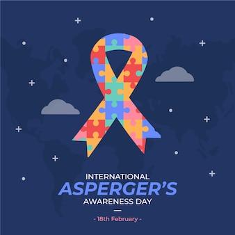 día internacional de concienciación sobre el asperger plano