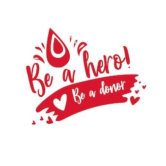 Día internacional del donante de sangre