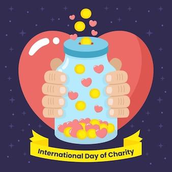 Día internacional del evento de caridad