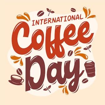Día internacional de las letras del café.