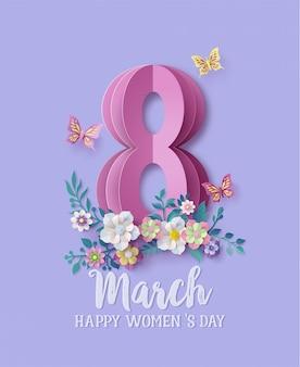 Día internacional de la mujer 8 de marzo