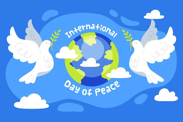 Día internacional de la paz con el planeta.