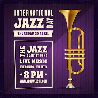 Día internacional realista del jazz