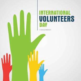 Día internacional del voluntario