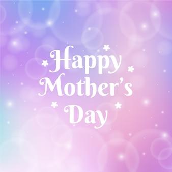 Día de la madre borrosa