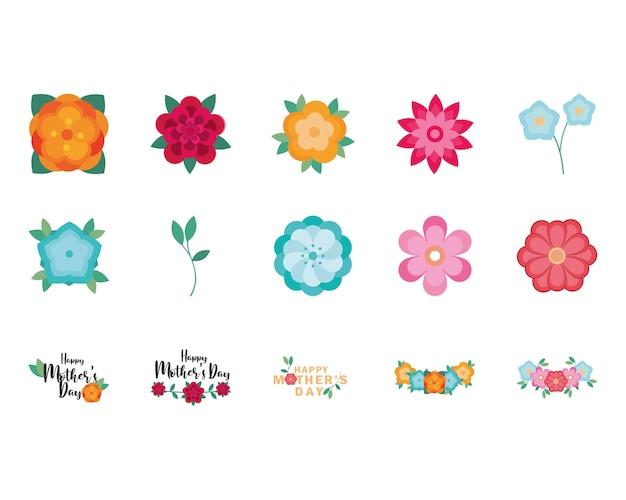 Dia de la madre floral