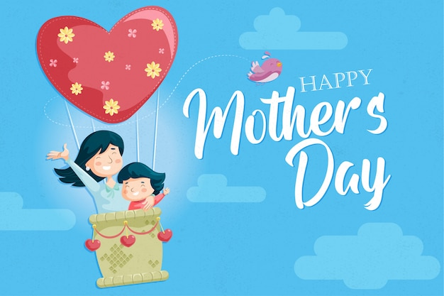 Día de la madre-madre e hija