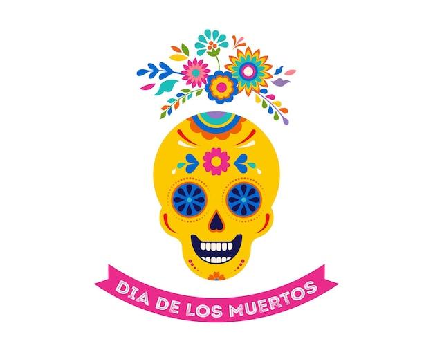 Dia de los muertos dia de los muertos ilustración