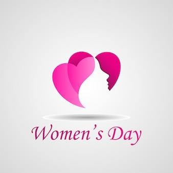 Día de la mujer feliz ilustración vectorial