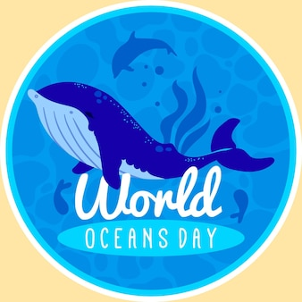 Día mundial de los océanos de la gran ballena