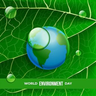 Día mundial realista del medio ambiente