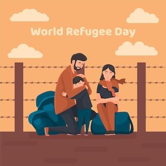 Dia mundial de los refugiados
