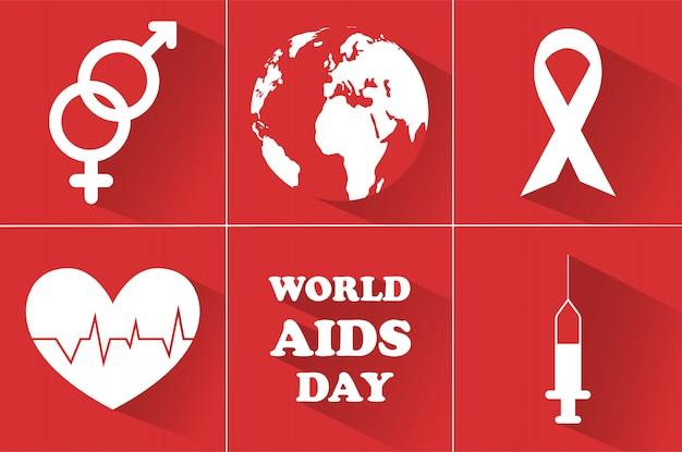 Día mundial del sida. 1 de diciembre.