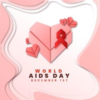 Día mundial del sida en papel