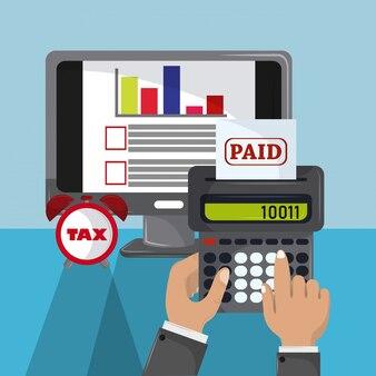 Día de pago del gobernante fiscal