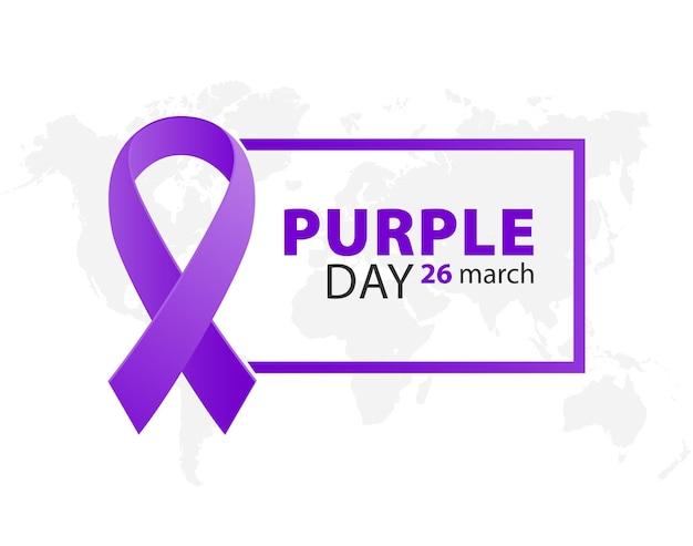 Día púrpura día mundial de la epilepsia