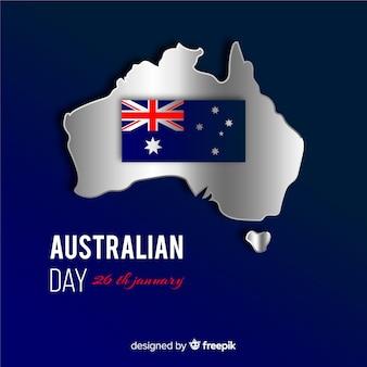 Día realista de australia
