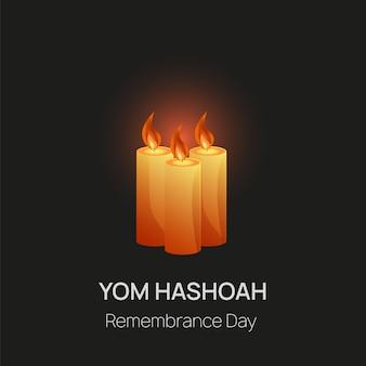 Día del recuerdo del holocausto.