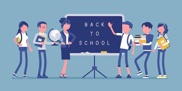 Día de regreso a la escuela