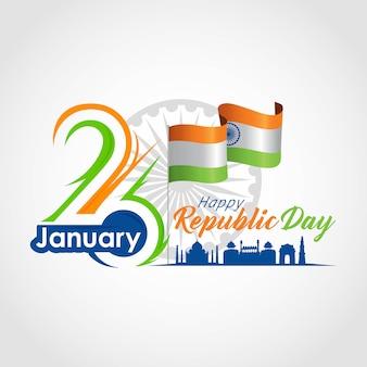 Día de la república india 26 de enero