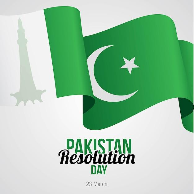 Día de resolución de pakistán celebrado el 23 de marzo