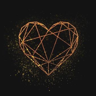 Dia de san valentin corazon