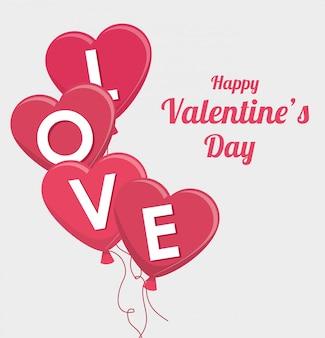 Dia de san valentin romantico