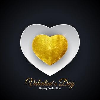 El día de san valentín él símbolo. diseño de fondo de amor y sentimientos