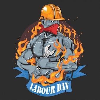 Día del trabajo 1 de mayo día ok