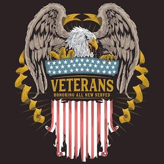 Dia de los veteranos águila
