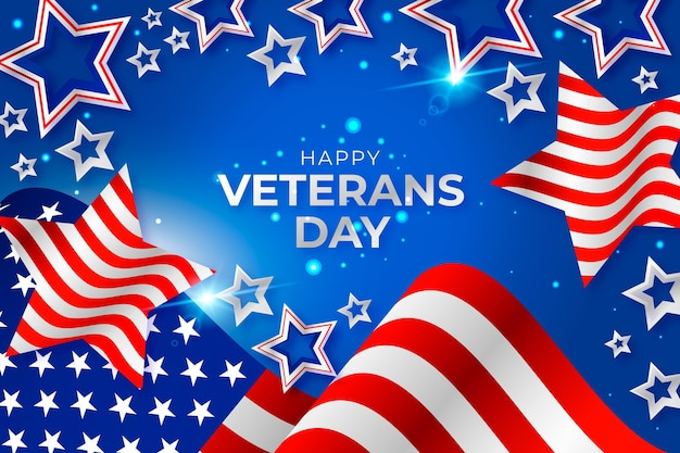 Día de los veteranos realista