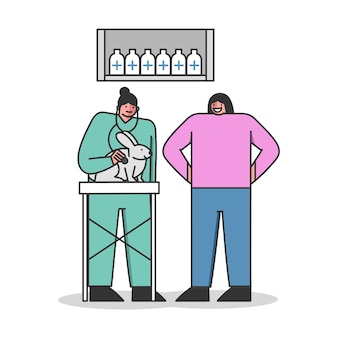 Diagnóstico médico profesional para mascotas