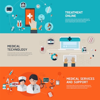 Diagnóstico y tratamiento médico en línea.