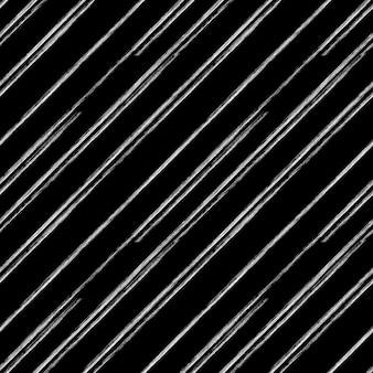 Diagonal de tiza blanca sobre un fondo negro