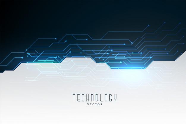 Diagrama de circuito de tecnología