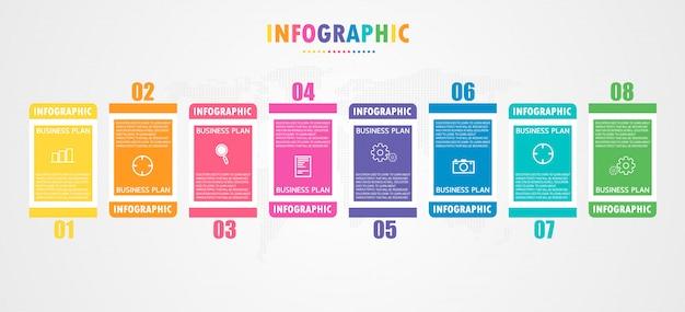 El diagrama utilizado en educación y diseño vectorial aprovecha la ilustración de educación empresarial