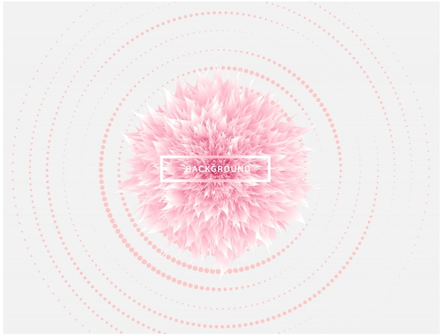 Diamante rosa copo de nieve