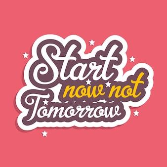 Dibujado a mano tipografía motivacional inspiracional citas