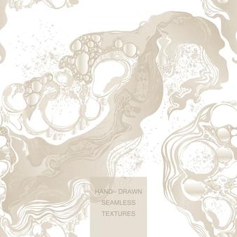 Dibujado a mano vector fondo abstracto de mármol