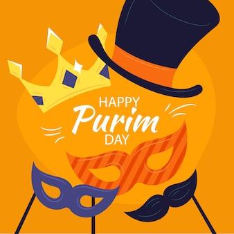 Dibujo del diseño del día de purim