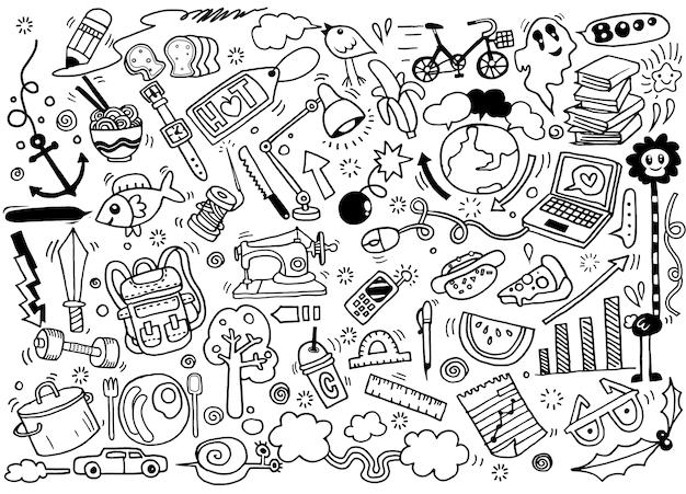 Dibujo a mano doodle