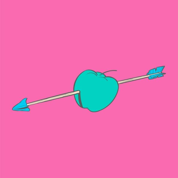 Dibujo a mano ilustración de objetivos objetivo concepto