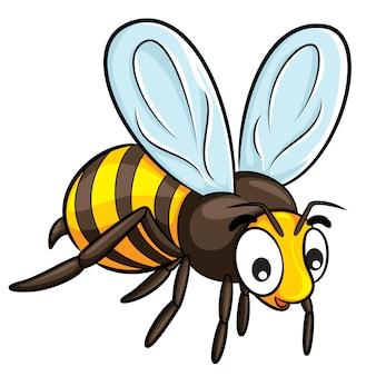Dibujos animados de abeja