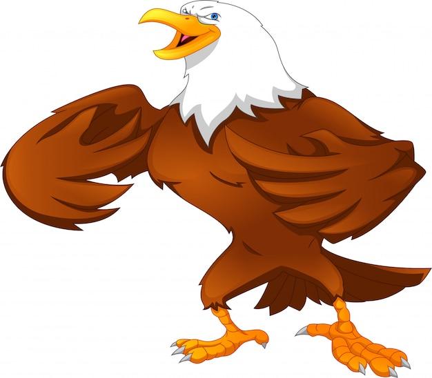 Dibujos animados de águila