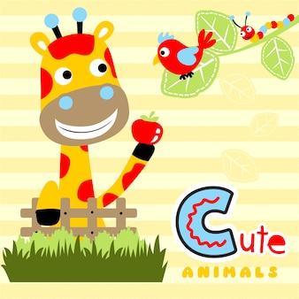 Dibujos animados de animales lindos